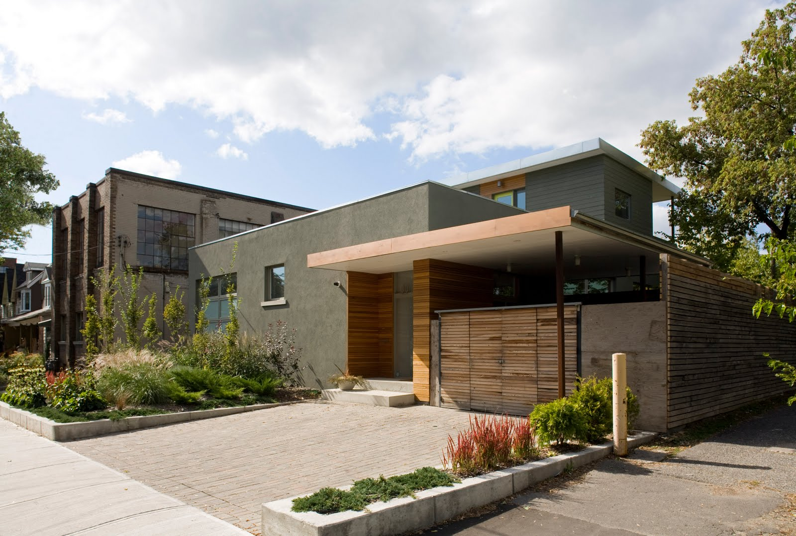 contemporary house in toronto canada (1)
