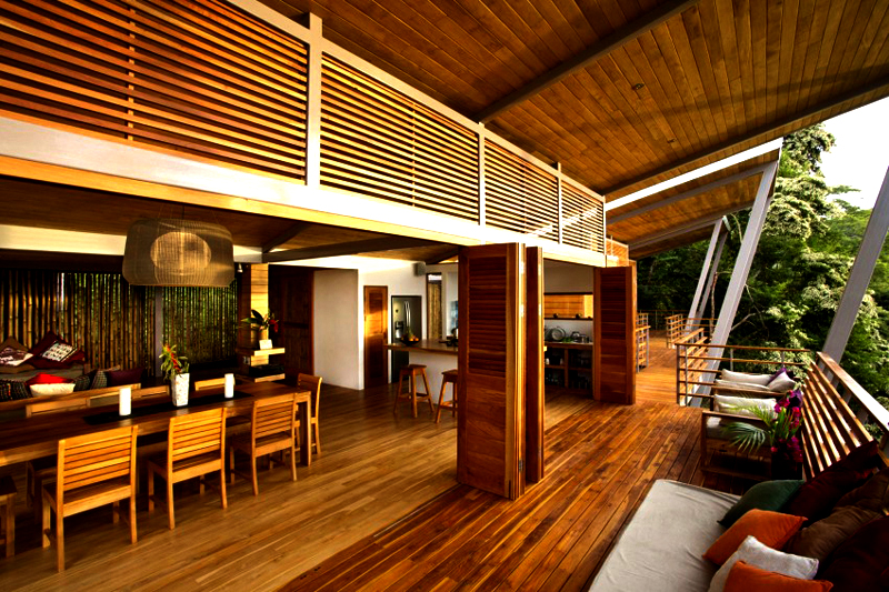 contemporary wood vacation house in costa rica (2)