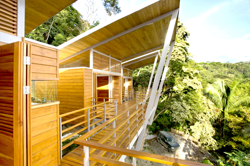 contemporary wood vacation house in costa rica (4)
