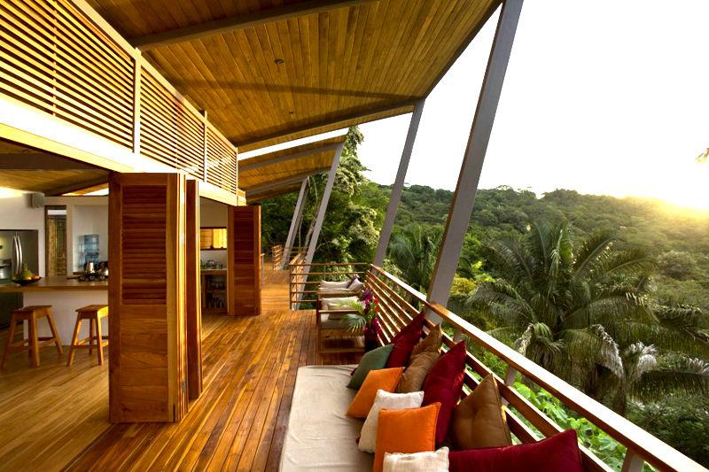 contemporary wood vacation house in costa rica (7)