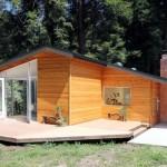 แบบบ้านไม้ในสไตล์คอทเทจ รูปลักษณ์ทันสมัย เน้นความโปร่งสบายของการใช้ชีวิต