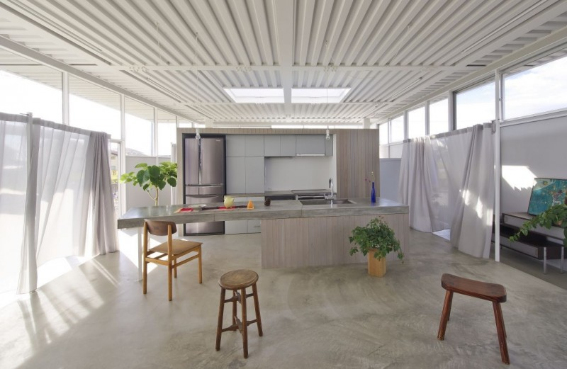 countryside modern house with garden in japan (10)