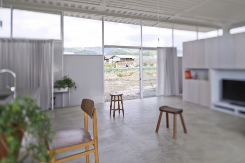 countryside modern house with garden in japan (11)