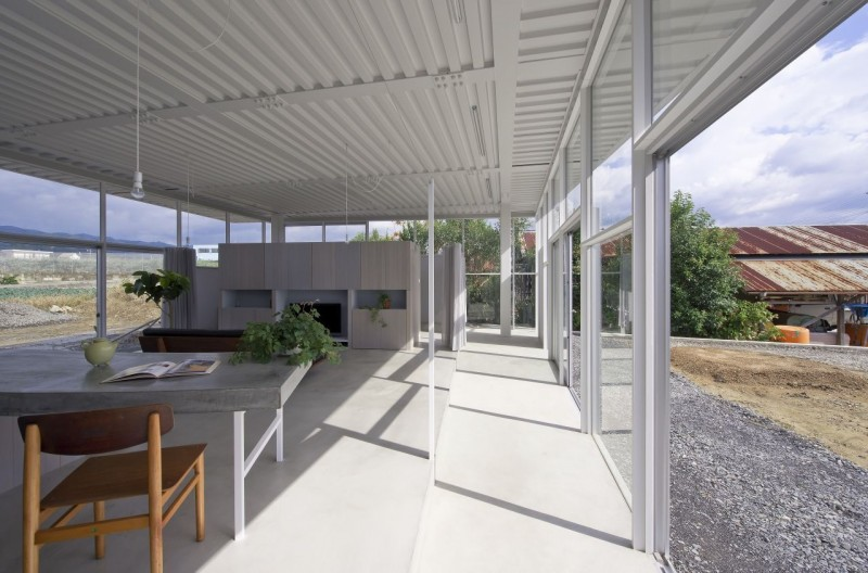 countryside modern house with garden in japan (12)