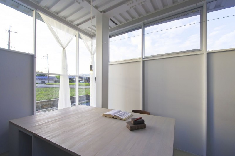 countryside modern house with garden in japan (14)