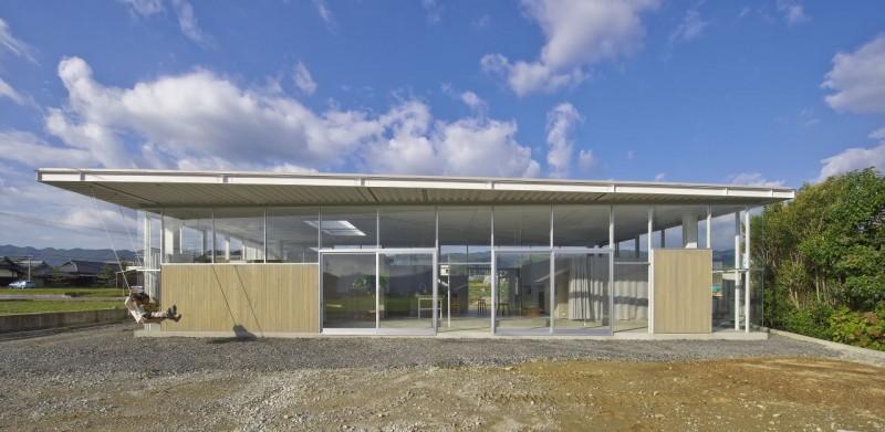 countryside modern house with garden in japan (3)