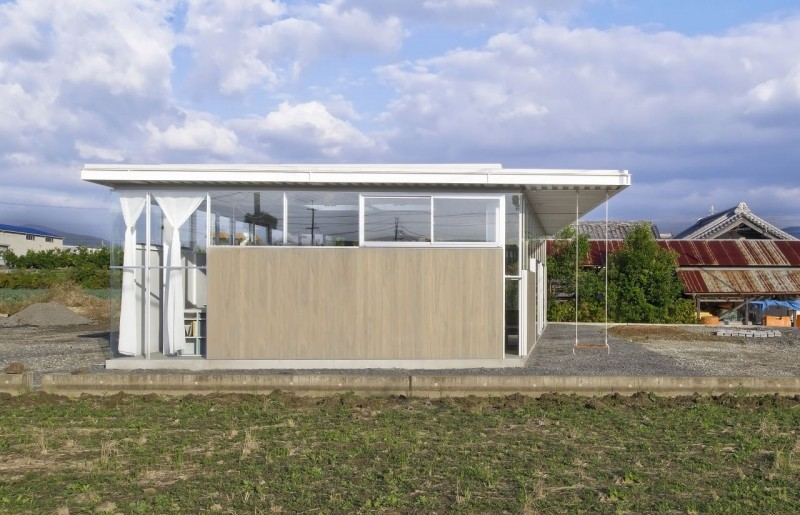 countryside modern house with garden in japan (5)