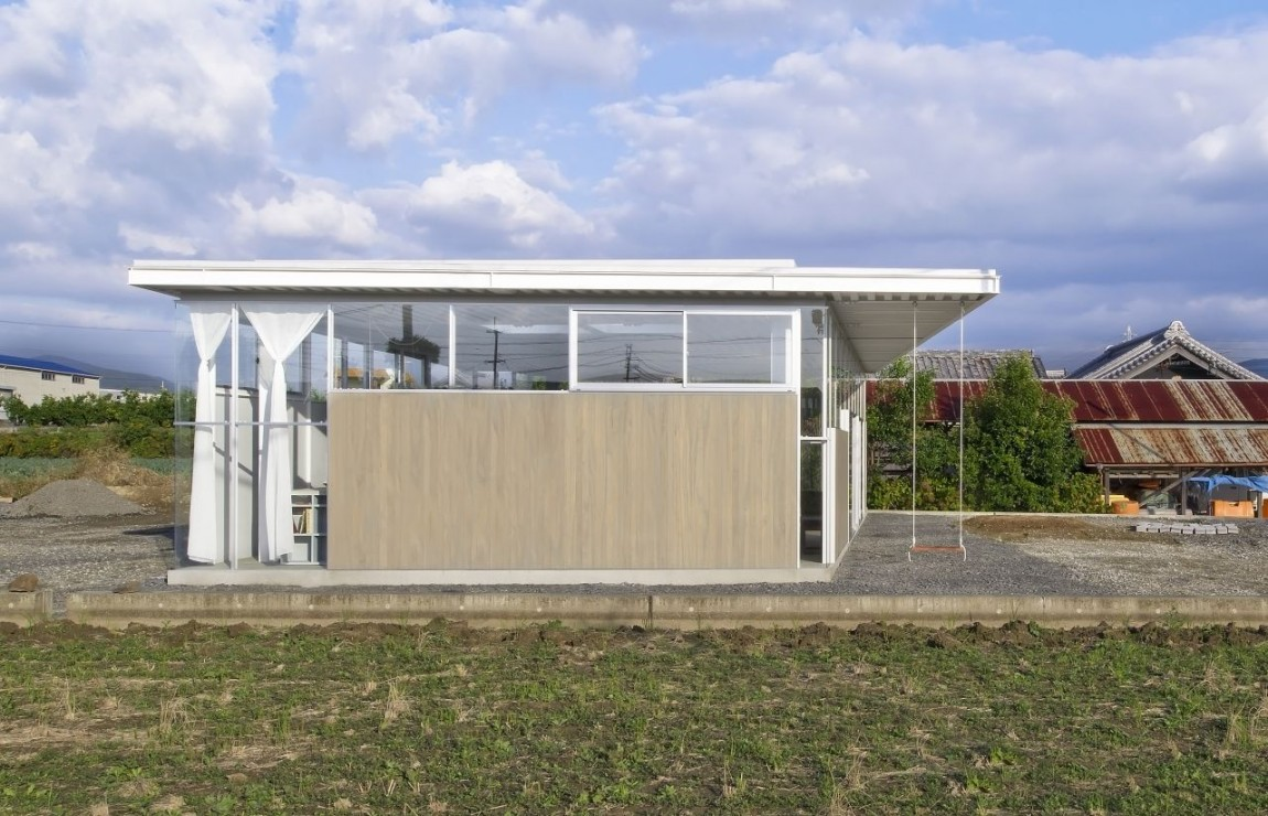 countryside modern house with garden in japan (8)