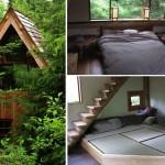บ้านกระท่อมไม้หลังเล็ก ได้แรงบันดาลใจจากบ้านญี่ปุ่น ผสมผสานศิลปะให้เข้ากับชีวิต