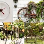 ไอเดียเปลี่ยนจักรยานเก่า เป็นของใช้และตกแต่งบ้าน DIY ให้แปลกตาไม่เหมือนใคร