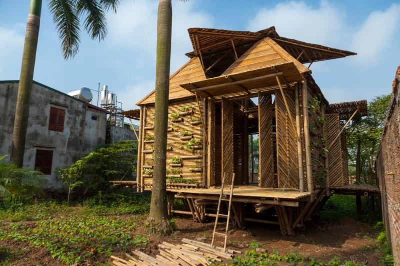 mini cottage bamboo house (2)
