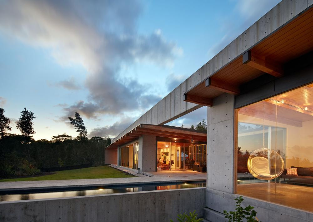 modern contemporary concrete house vacation style (1)