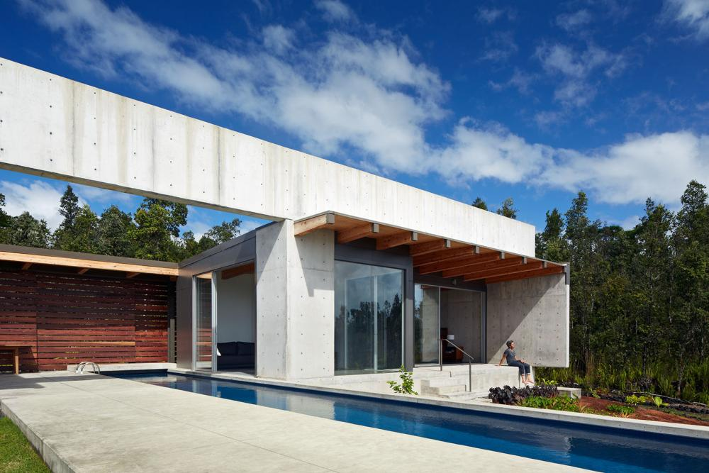 modern contemporary concrete house vacation style (5)