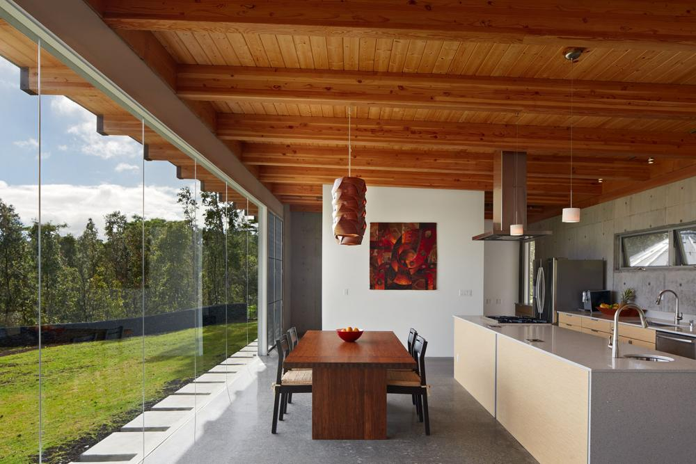 modern contemporary concrete house vacation style (7)