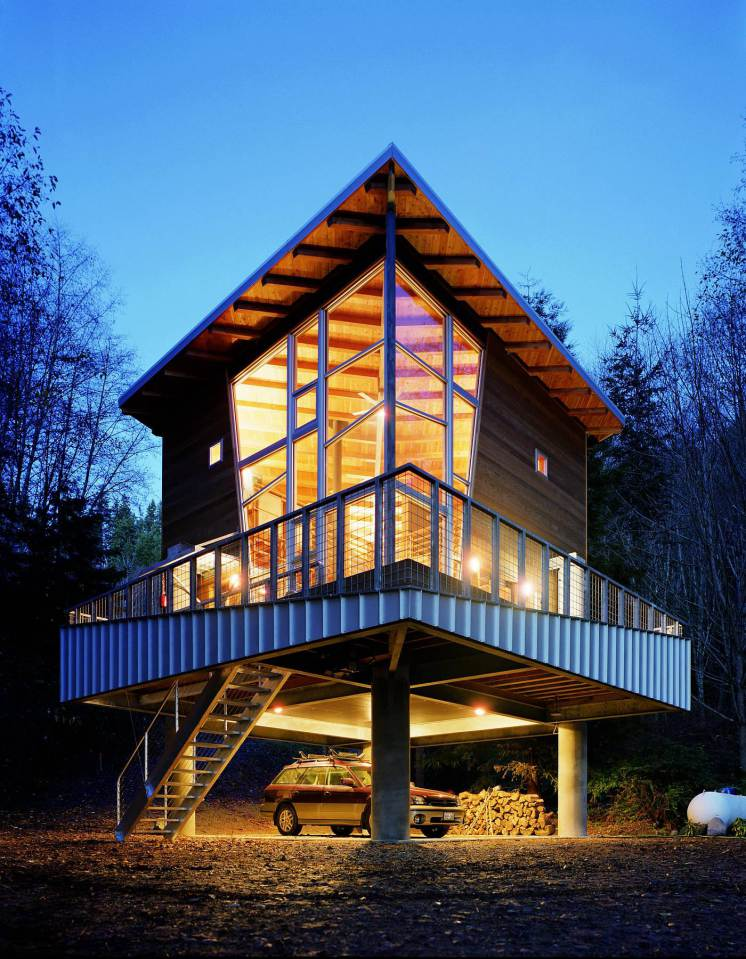 modern contemporary loft house mini (1)