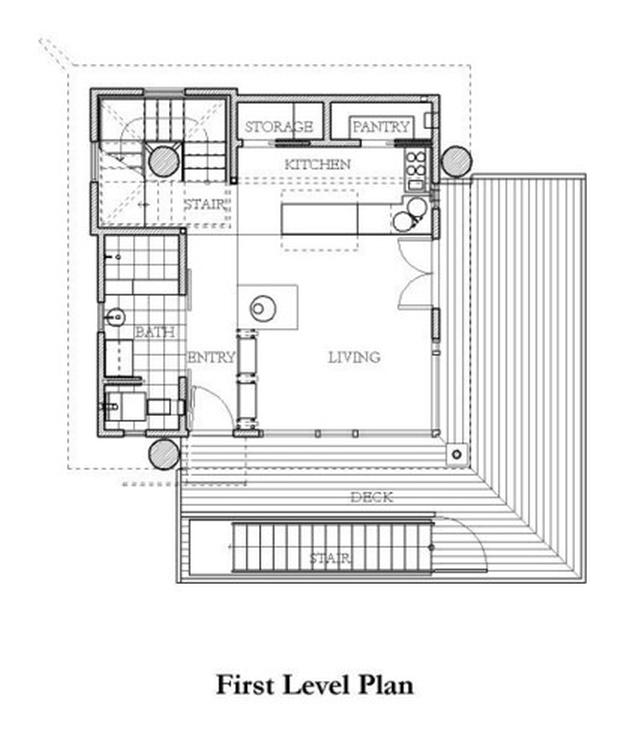 modern contemporary loft house mini (16)