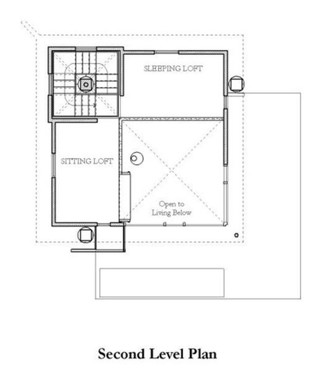 modern contemporary loft house mini (17)