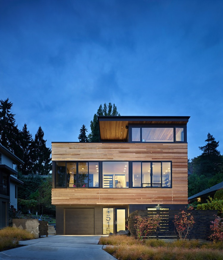 modern house near lake in seattle perfect life (1)