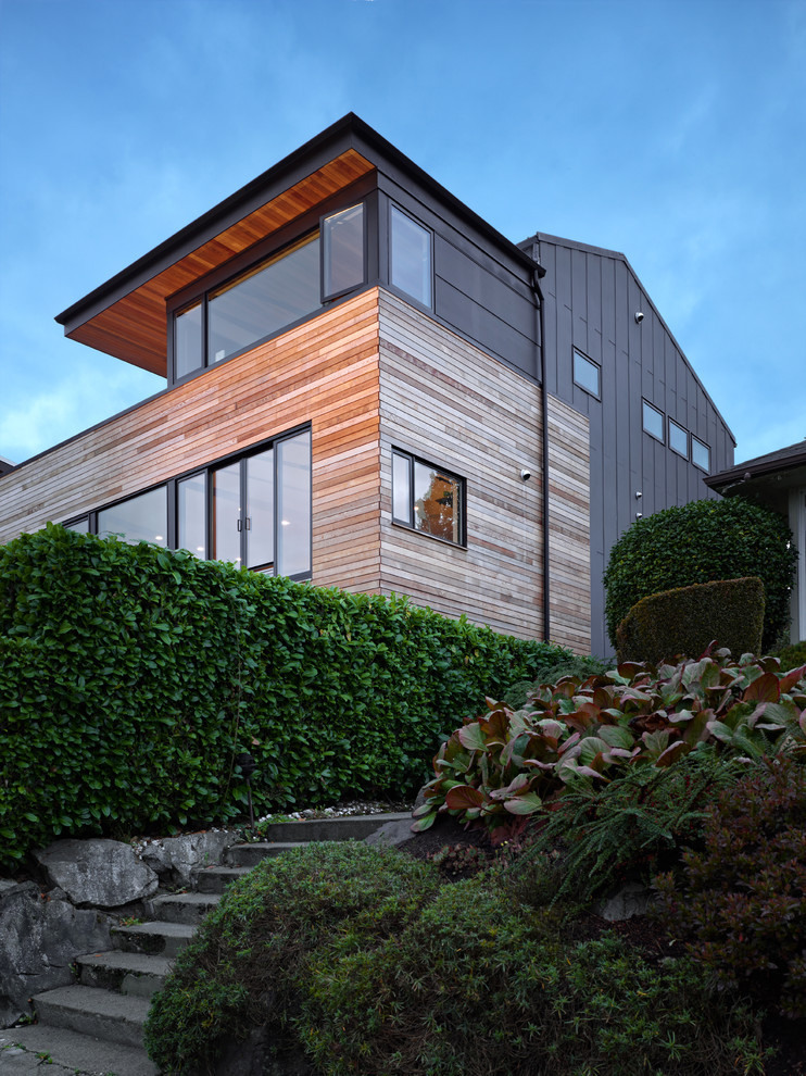 modern house near lake in seattle perfect life (2)