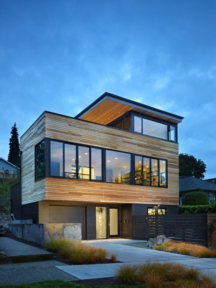modern house near lake in seattle perfect life (3)