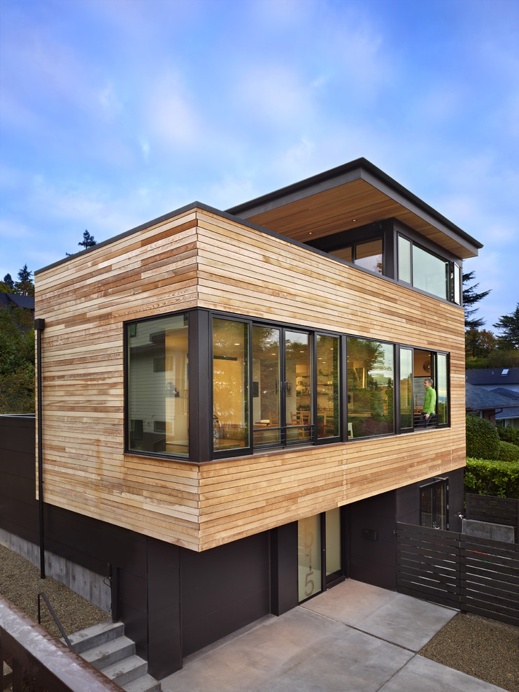 modern house near lake in seattle perfect life (5)