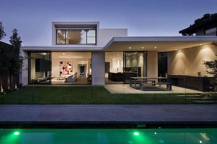 modern platform townhouse with pool in australia (26)
