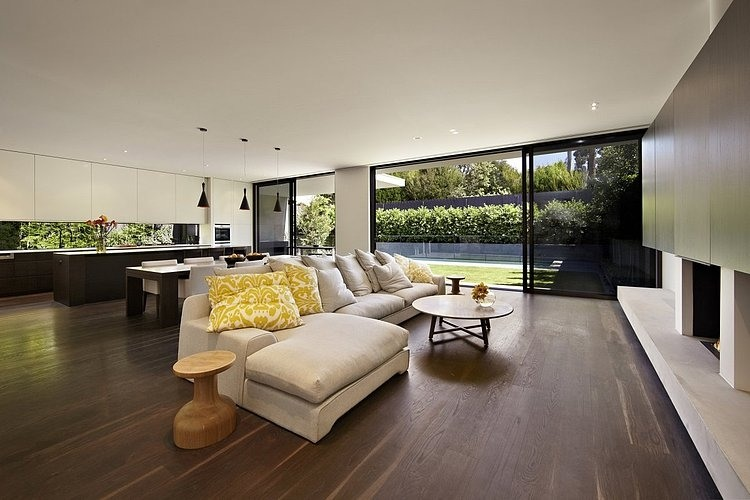 modern platform townhouse with pool in australia (7)