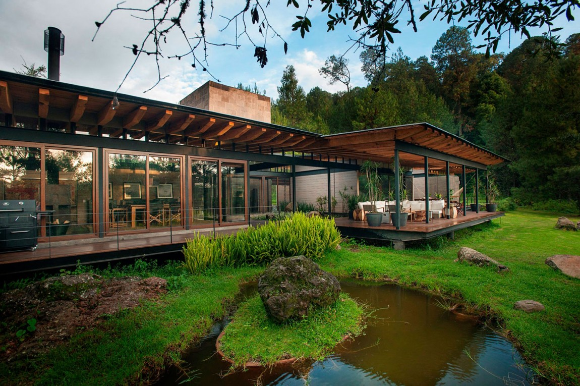 modern resident for perfect libing in forest (6)