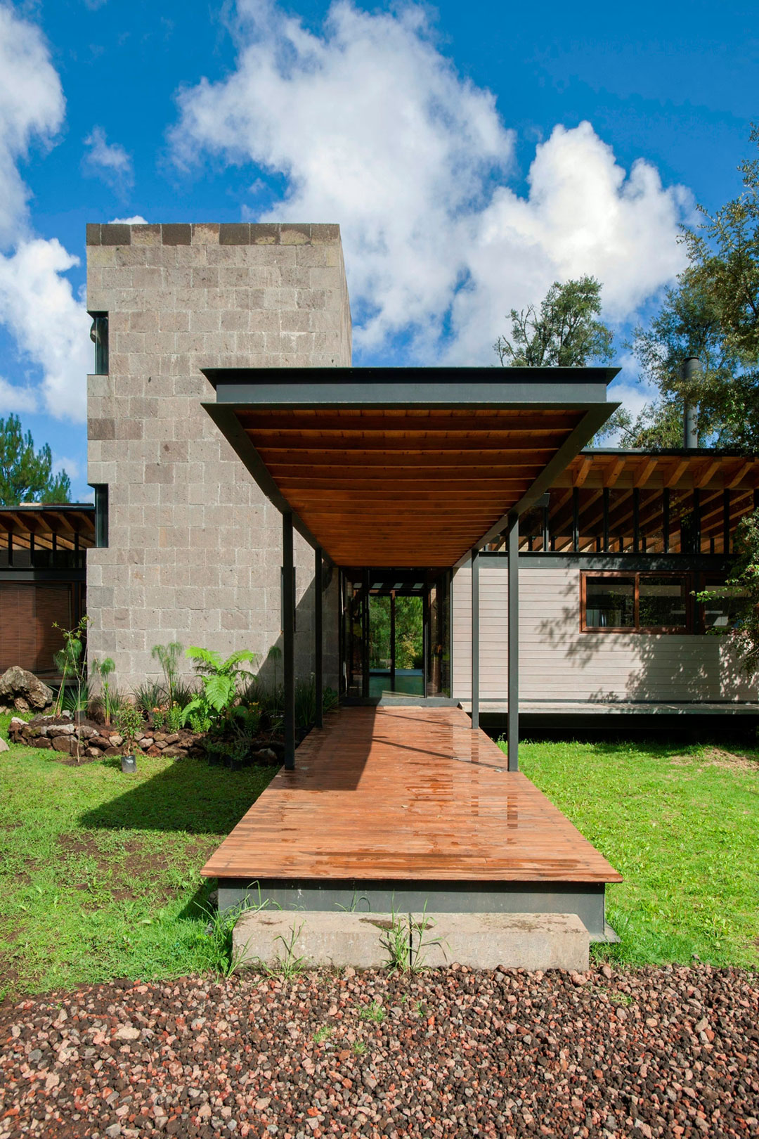 modern resident for perfect libing in forest (7)