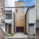 บ้านทาวน์เฮาส์ 3 ชั้นหลังเล็ก ใจกลางเมืองญี่ปุ่น บริหารพื้นที่ภายในอย่างดีเยี่ยม