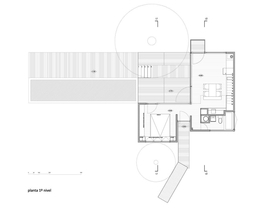 platform box house for living with nature (20)