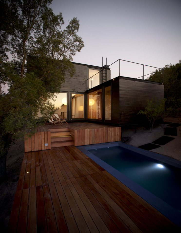 platform box house for living with nature (3)