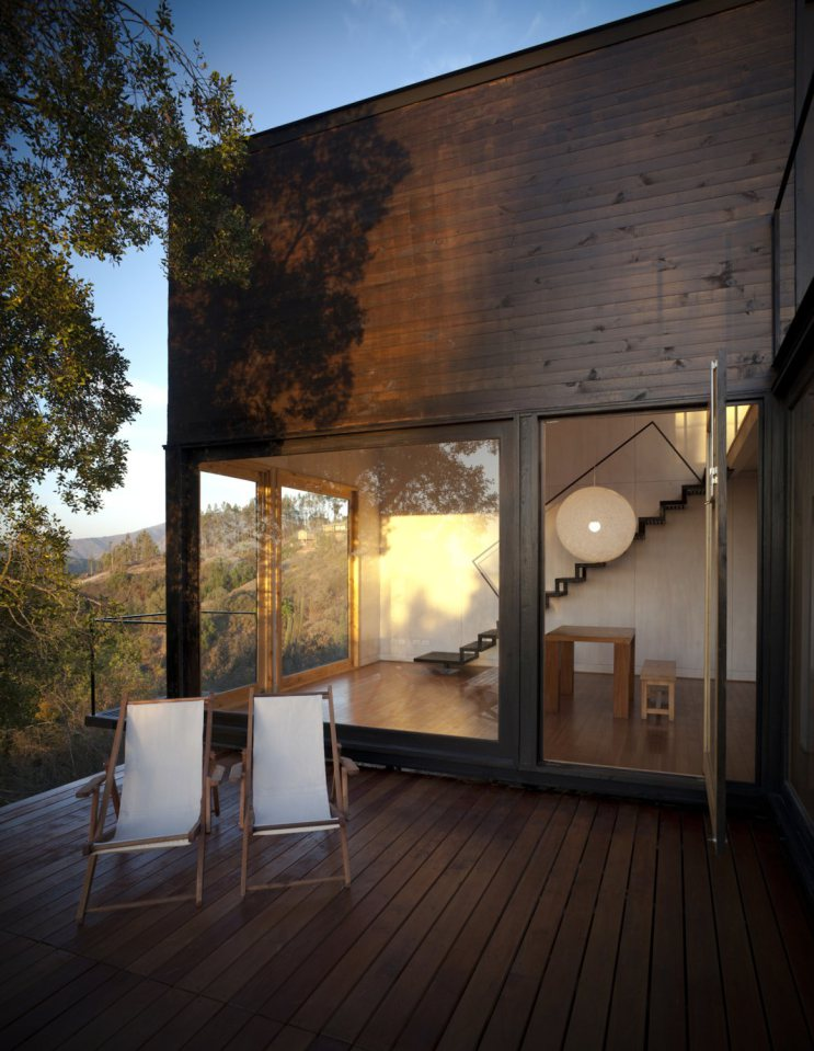 platform box house for living with nature (4)