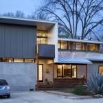 รีโนเวทบ้านเก่า ให้กลายเป็นบ้านสองชั้นแนวโมเดิร์นร่วมสมัย เพื่อชีวิตแสนสบาย