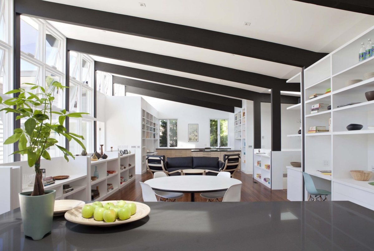 renovate modern contemporary house with white wood interior (2)