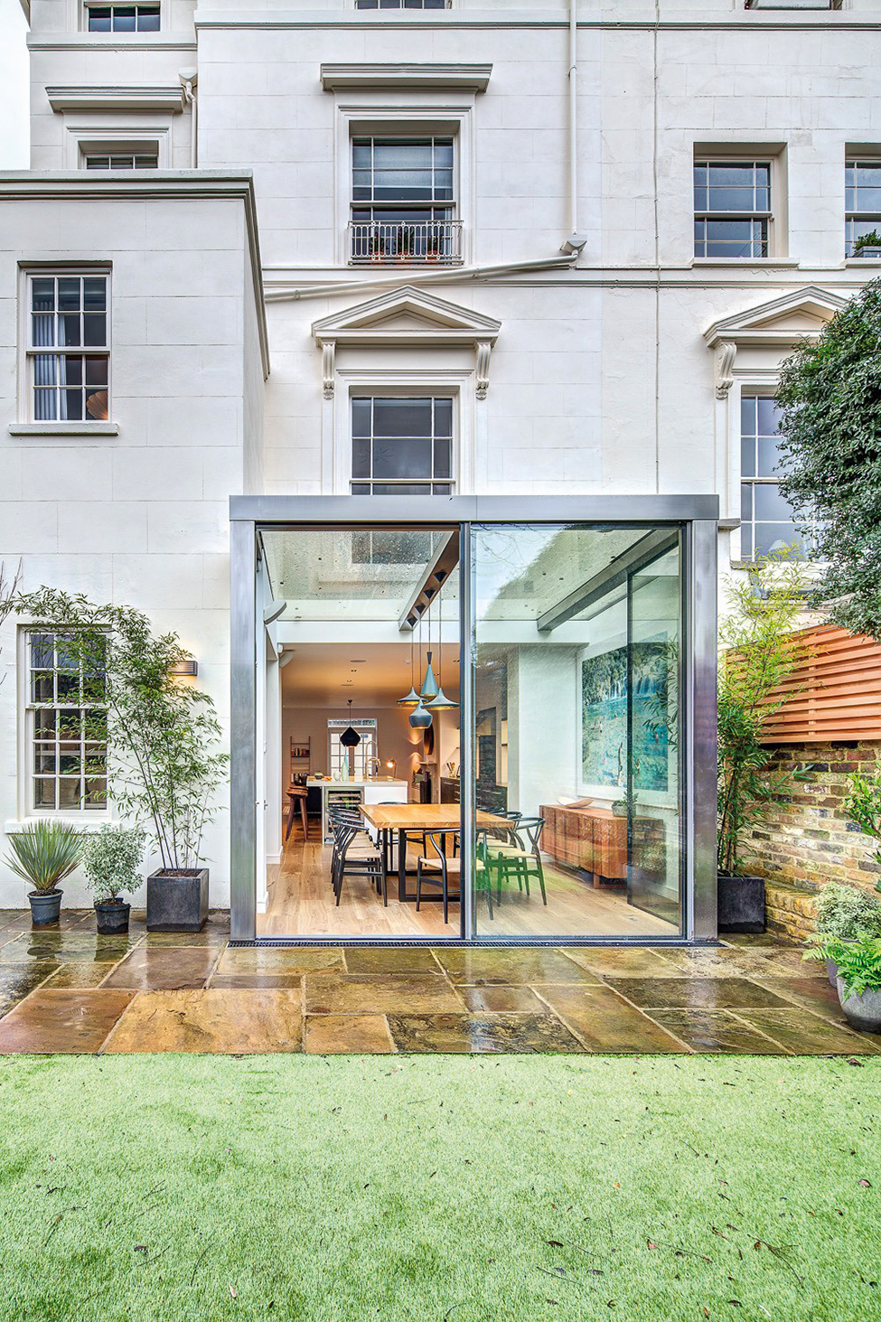 renovate old townhouse in london to modern style (1)