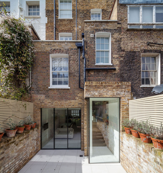 renovate townhouse modern bright space chelsea london england (1)