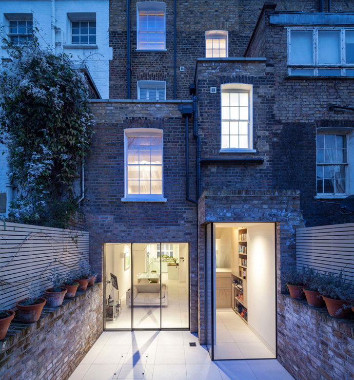 renovate townhouse modern bright space chelsea london england (21)