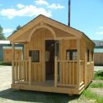 บ้านชั้นเดียวทรงกระท่อมไม้ สร้างอย่างเรียบง่าย ในงบประมาณเพียงแสนต้นๆเท่านั้น
