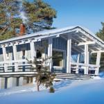 แบบบ้านกระท่อมไม้ขนาดเล็ก พื้นที่ใช้งาน 18 ตร.ม. ตกแต่งเรียบง่ายแฝงความน่ารัก