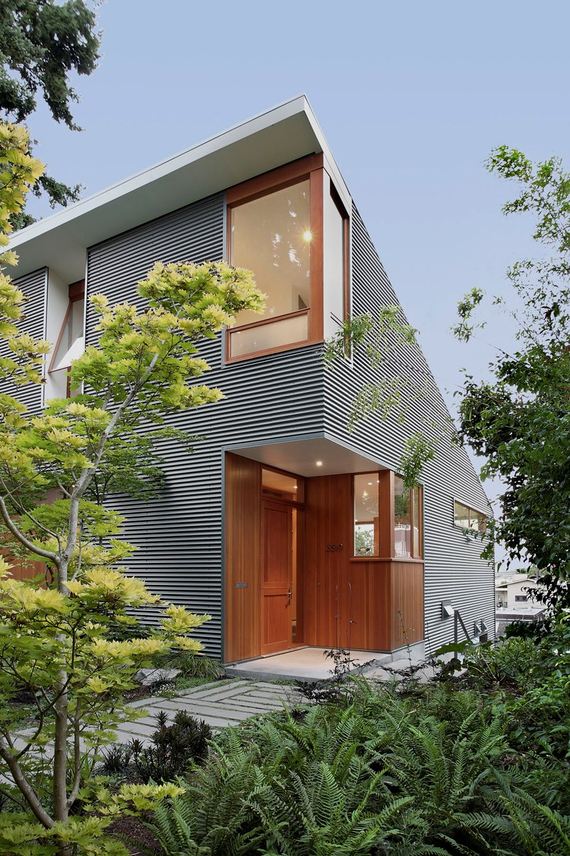 street house in usa with metal sheet wood and glass design (3)