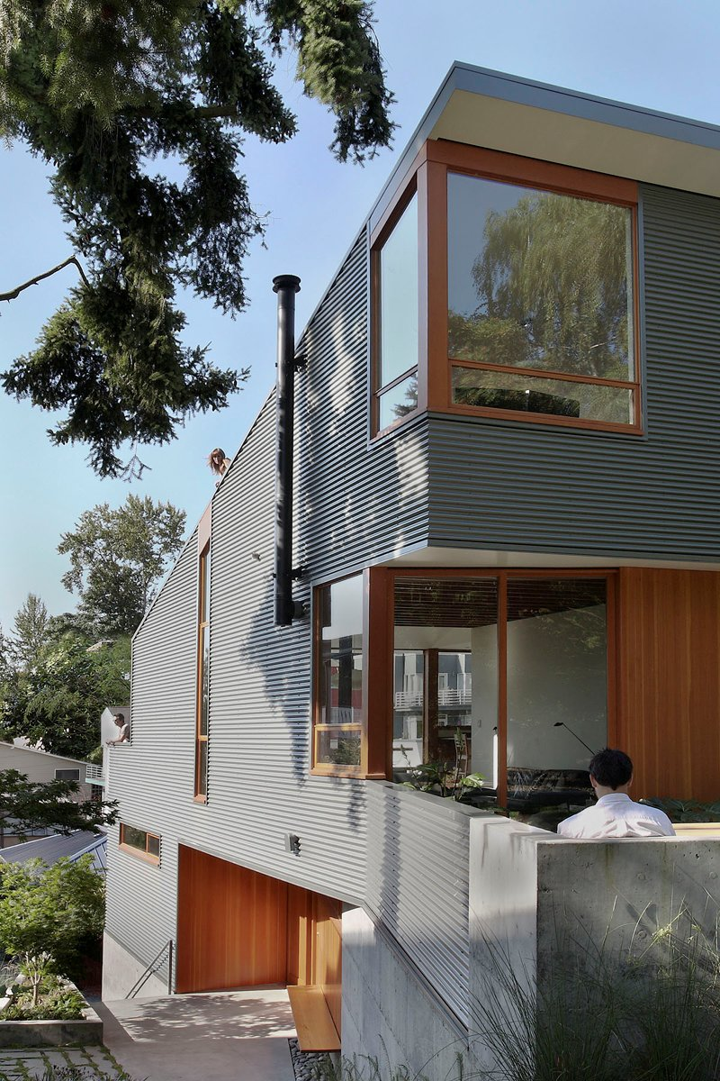 street house in usa with metal sheet wood and glass design (7)