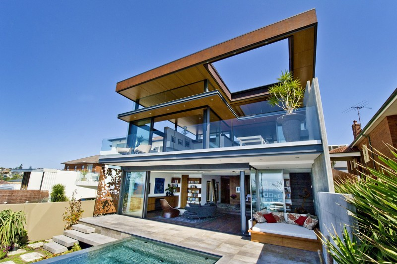 vacation house glass with privacy perfect (1)