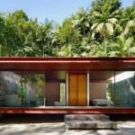 แบบบ้านเพื่อการพักผ่อน ในบรรยากาศท่ามกลางธรรมชาติ ออกแบบอย่างเป็นเอกลักษณ์