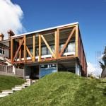 บ้านพักตากอากาศริมทะเล จากประเทศนิวซีแลนด์ แสดงถึงความสุขแห่งการพักผ่อน