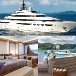 Motor Yacht QUATTROELLE เรือยอร์ชสุดหรูอลังการ กับค่าเช่าสัปดาห์ละ 40 ล้านบาท