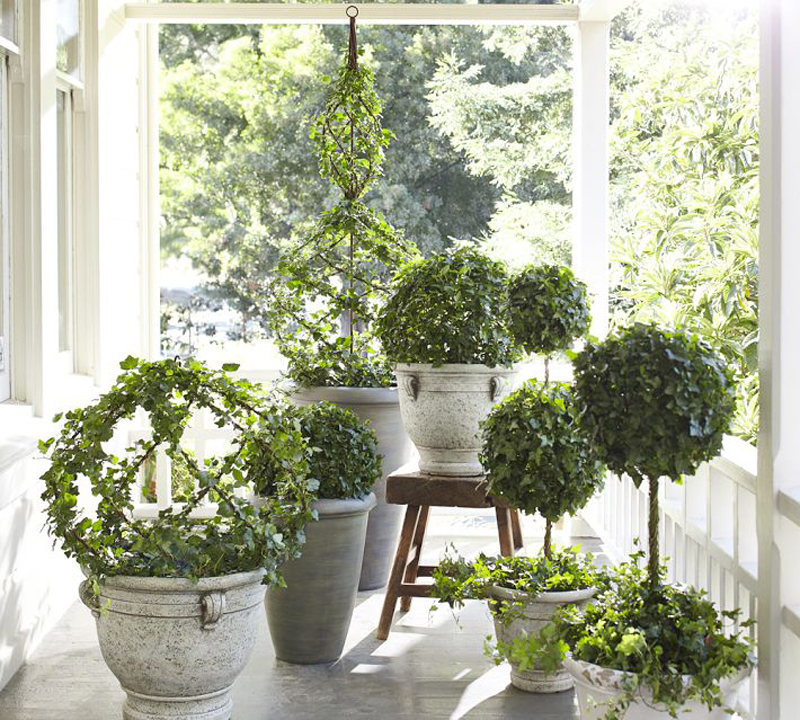 21 ideas decorate home with green space (13)