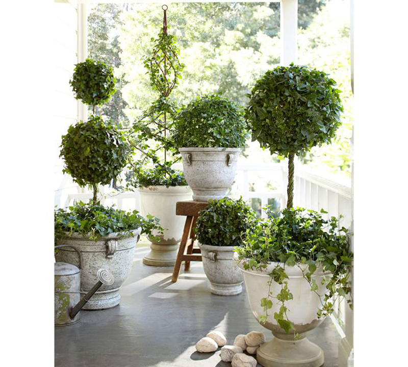 21 ideas decorate home with green space (6)