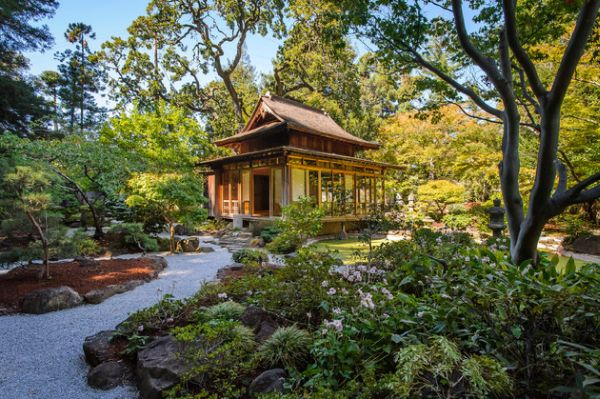 30 japanese garden ideas for decorating your house yard (19)