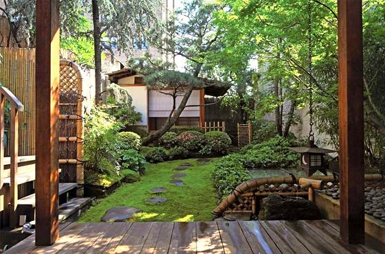 30 japanese garden ideas for decorating your house yard (2)